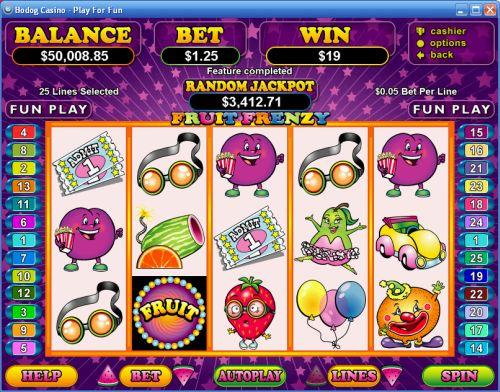 Fruit Frenzy Slot - Win Big Playing Online Casino Games