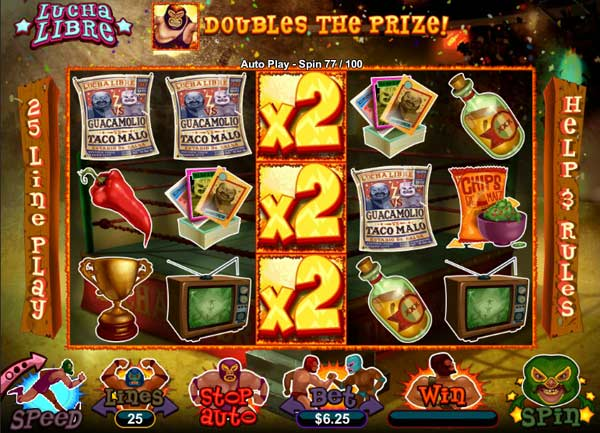 Lucha Libre Slot Machine - Play it for Free