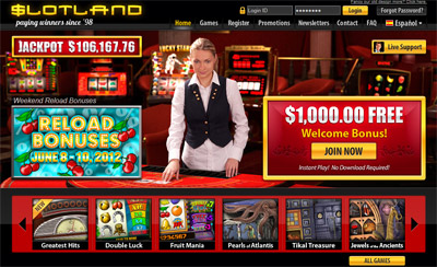 web slot casino