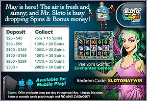 free spins and slots bonus